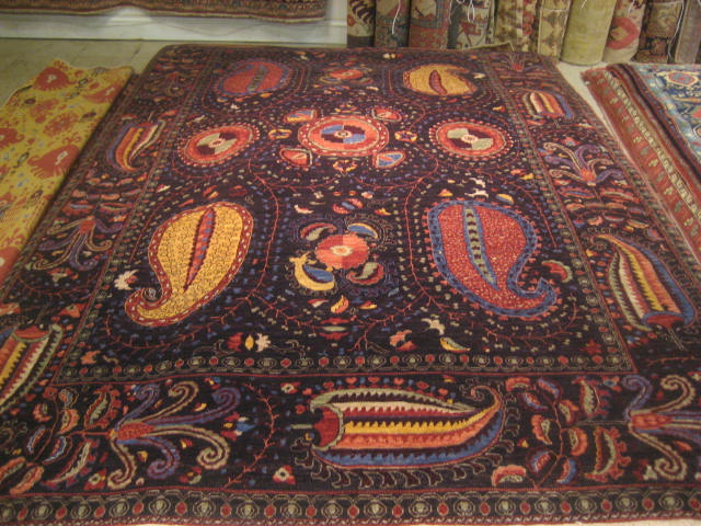 6 X 9 4 Suzani Design Hand Knotted Rug Vincent J